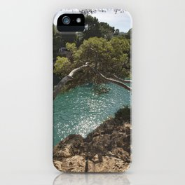 Tranquil Bay at Mallorca Island iPhone Case
