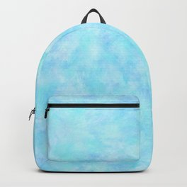 Powder Blue Sky Abstract Backpack