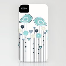 I heart birdies Slim Case iPhone (4, 4s)