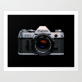 Canon AE-1 Art Print