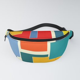 Color Blocks #8-3 Fanny Pack