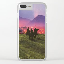 Three Riders Clear iPhone Case