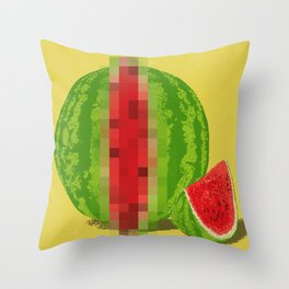 Censored ♀ Throw Pillow