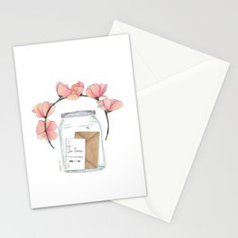 Je t'aime toujours Stationery Cards
