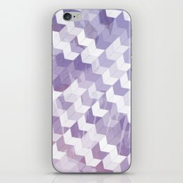 Abstract Geometric Cubes Design iPhone Skin