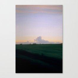 Plains Sunset Canvas Print