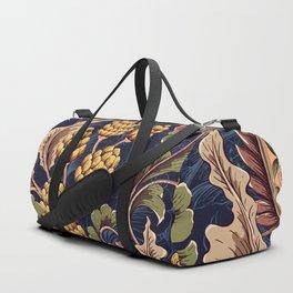 Beautiful Victorian Vintage Floral Pattern Duffle Bag