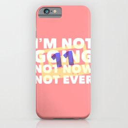 tape 6, side A iPhone Case
