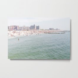 Beach Season Metal Print
