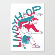Lindy Hop - Dip Canvas Print