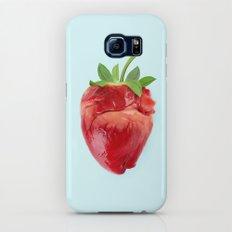 STRAWBERRY HEART Slim Case Galaxy S7
