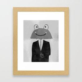 happy man Framed Art Print