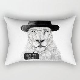 Say my name Rectangular Pillow