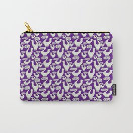 SNOOTY CATS PATTERN TAKE 2 Carry-All Pouch