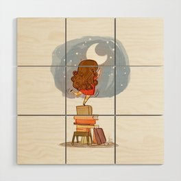 Nothing is out of reach Wood Wall Art