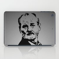 bill murray iPad Cases featuring Bill Murray by Spyck