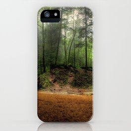Ash Cave At Hocking Hills State Park Logan Ohio Ultra HD iPhone Case