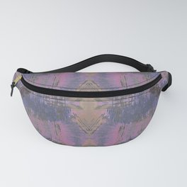 Abstract mosaic panel Fanny Pack