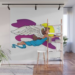 Coffee Angel Wall Mural