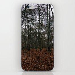 Dark Woods iPhone Skin