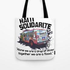 Haiti Solidarity - Ayiti Solidarite Tote Bag