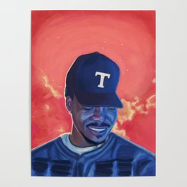 Chance The Rapper: Coloring Book Poster