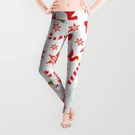 A Little Bit Of Christmas Leggings