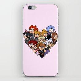 Trio Heart iPhone Skin