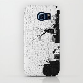 NYC splatterscape iPhone Case