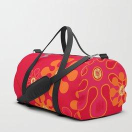 Butterflies & blooms Duffle Bag