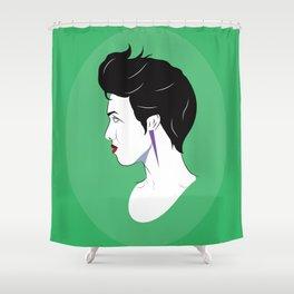 BianCamée Vert Shower Curtain
