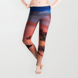 Africa Series - Seeking Shelter Before the Storm Leggings