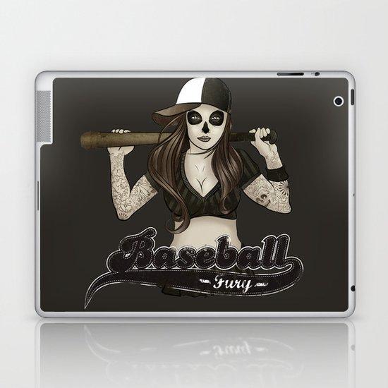 Baseball Fury Laptop & iPad Skin