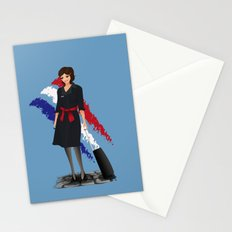 Come fly with me, let's fly, let's fly away - France Stationery Cards