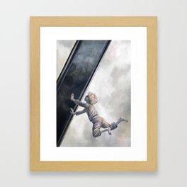 Der Spiegel des Cyprianus Framed Art Print