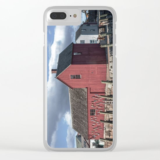Rockport's Motif #1 Clear iPhone Case