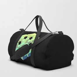 Exploded cube Duffle Bag