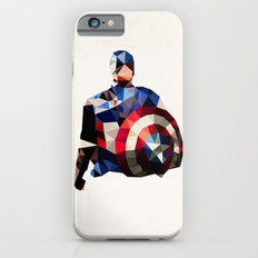 Polygon Heroes - Captain America Slim Case iPhone 6