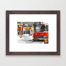 Toronto Streets 1 Framed Art Print