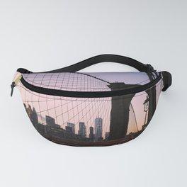 View of Manhattan from Brooklyn Bridge Fanny Pack