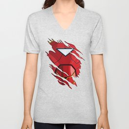 IronMan Ripped Unisex V-Neck