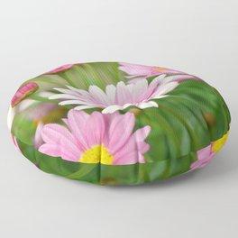 Daisy pink 090 Floor Pillow