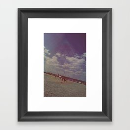 Glasto 2010 - time to leave Framed Art Print