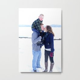 Bree and Family2 Metal Print