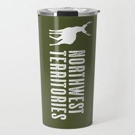Deer: Northwest Territories, Canada Travel Mug