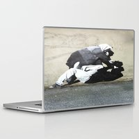 banksy Laptop & iPad Skins featuring BANKSY  by Art Ground