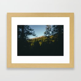 Mt. Elbert  Framed Art Print
