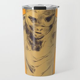 Monster between the wall and the filing cabinet Travel Mug