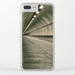 tunnel vision Clear iPhone Case