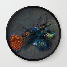 Mandarin dragonet Wall Clock